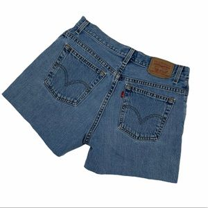 Womens Vintage Levi's High Waisted Shorts Size: 28